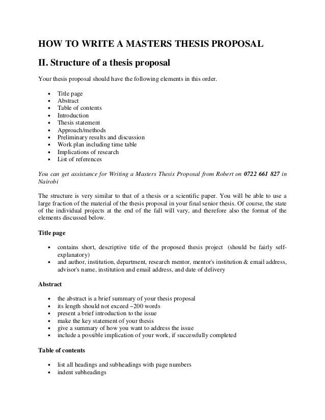 Help writing dissertation proposal tutorial